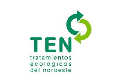 Logotipo Ten - Tratamientos ecológicos del noroeste, socio de Life Reforest